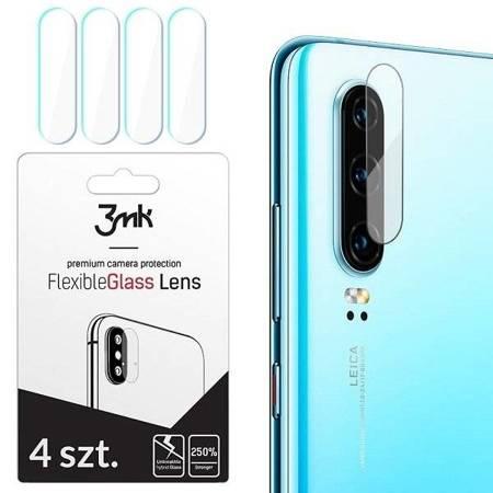 3MK FlexibleGlass Lens Samsung A705 A70 Szkło hybrydowe na obiektyw aparatu 4szt