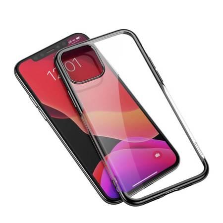 Baseus Shining Case żelowe etui pokrowiec na iPhone 11 Pro czarny (ARAPIPH58S-MD01)