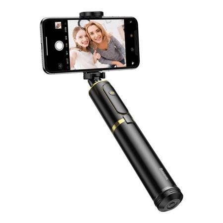 Baseus selfie stick teleskopowy rozsuwany kijek do selfie + statyw z pilotem Bluetooth złoty (SUDYZP-D1V)