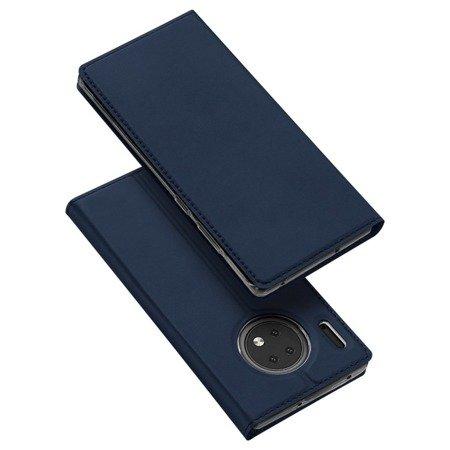 DUX DUCIS Skin Pro kabura etui pokrowiec z klapką Huawei Mate 30 niebieski