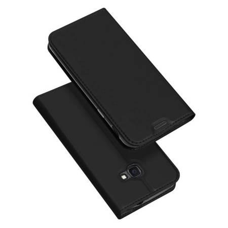DUX DUCIS Skin Pro kabura etui pokrowiec z klapką Samsung Galaxy Xcover 4s czarny