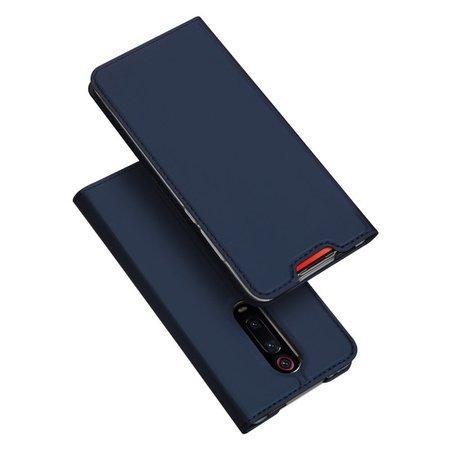 DUX DUCIS Skin Pro kabura etui pokrowiec z klapką Xiaomi Mi 9T Pro / Mi 9T niebieski