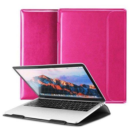 Dux Ducis HEFI 2w1 torba etui podstawka na MacBook 15,4'' różowy