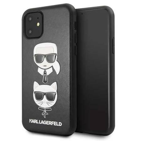 Etui Karl Lagerfeld KLHCN61KICKC iPhone 11 hardcase czarny/black Karl & Choupette