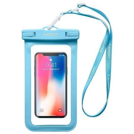 Etui Spigen A600 Universal Waterproof Case Blue