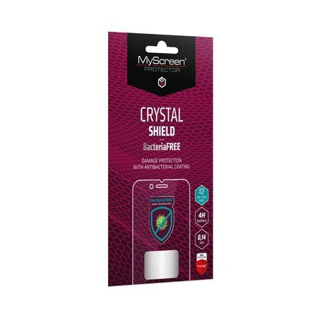 Evolveo StrongPhone G5 - Folia antybakteryjna MyScreen CRYSTAL SHIELD BacteriaFREE