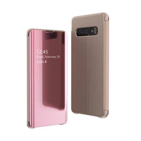 Flip View futerał etui z klapką Samsung Galaxy S10 różowy