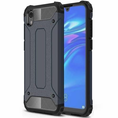 Hybrid Armor pancerne hybrydowe etui pokrowiec Xiaomi Redmi 7A niebieski