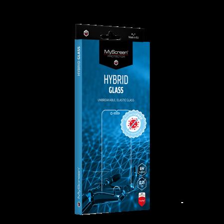 Meizu Note 9- Antybakteryjne szkło hybrydowe MyScreen HYBRID GLASS BacteriaFREE