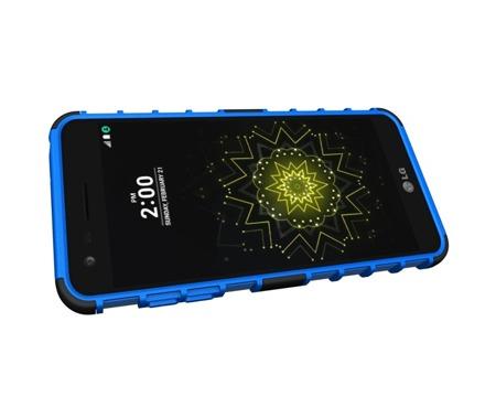 Pancerne etui Kickstand LG G6 H870 niebieskie