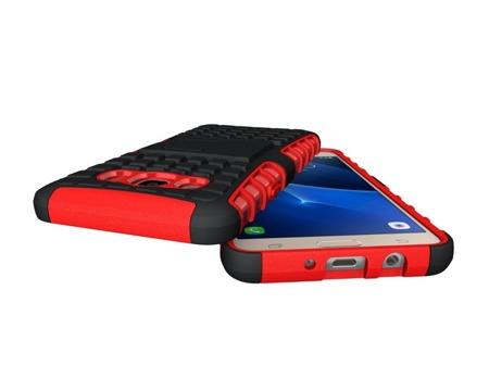 Pancerne etui Kickstand Samsung Galaxy J5 2016 J510 czerwone