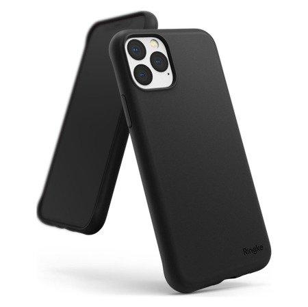 Ringke Air S ultracienkie żelowe etui pokrowiec iPhone 11 Pro czarny (ADAP0011)