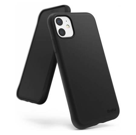Ringke Air S ultracienkie żelowe etui pokrowiec iPhone 11 czarny (ADAP0006)