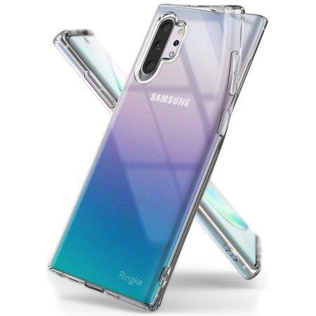 Ringke Air ultracienkie żelowe etui pokrowiec Samsung Galaxy Note 10 Plus przezroczysty (ARSG0022)