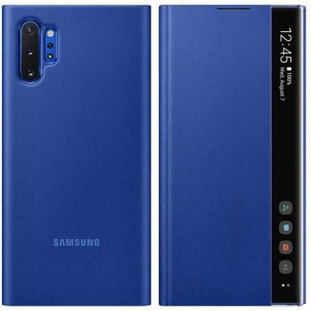 Samsung Clear View Standing Cover futerał etui z inteligentną klapką Samsung Galaxy Note 10 Plus niebieski (EF-ZN975CLEGWW)