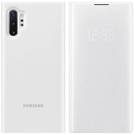 Samsung LED View Cover etui pokrowiec z wyświetlaczem LED Samsung Galaxy Note 10 Plus biały (EF-NN975PWEGWW)