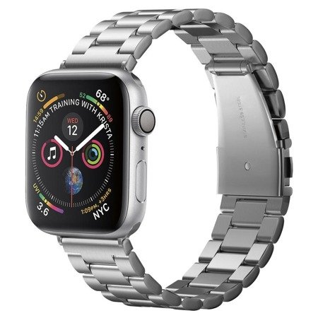 Spigen Modern Fit Band Apple Watch 1/2/3/4 (42/44MM) Silver