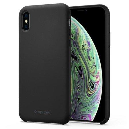 Spigen Silicone Fit Iphone X/Xs Black