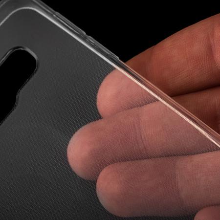 Żelowy pokrowiec etui Ultra Slim 0,3 mm Samsung Galaxy A7 2017 A720 przezroczysty