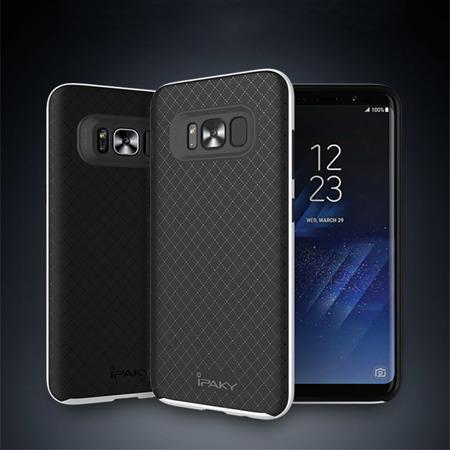 iPaky Bumblebee Neo Hybrid gumowe etui z ramką Samsung Galaxy S8 G950 złoty